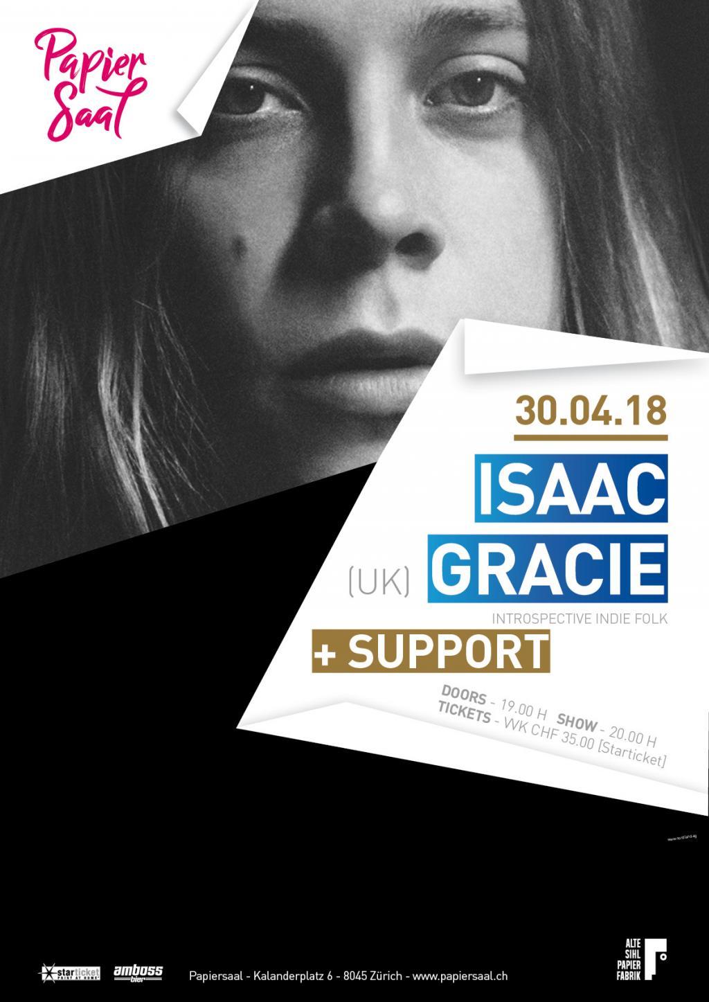 Isaac Gracie (UK) » Papiersaal